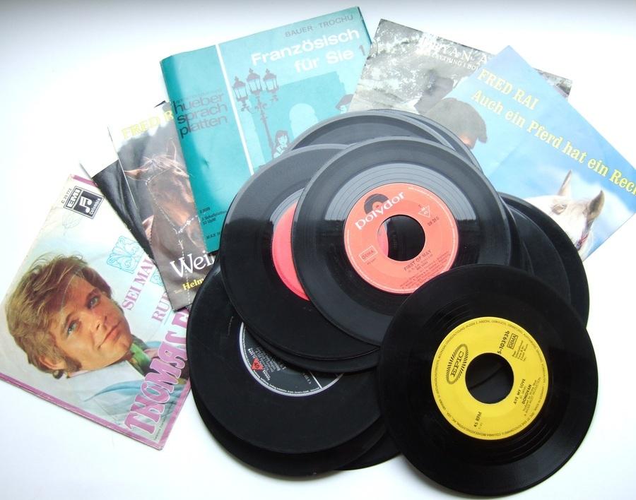 27 Single Schallplatten Zum Basteln Zu Kaufen Bei Fairmondo