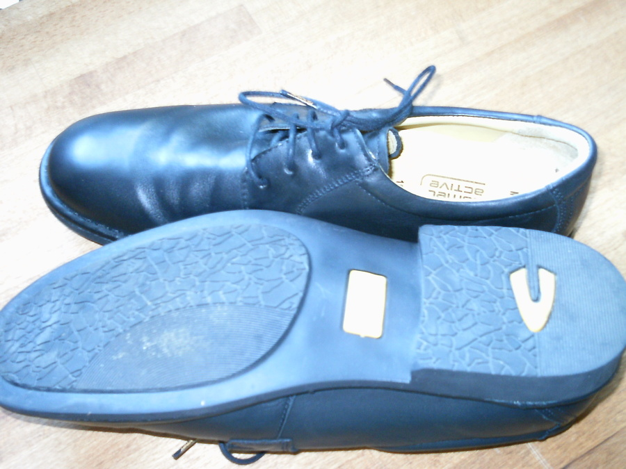 CAMEL active Schuhe Meran Leder Gr. 44 Herren Halbschuhe zu