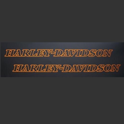 2x Aufkleber Harley Davidson Night Rod Special Tank 0464 Zu