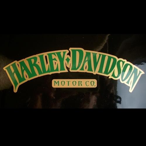 2x Aufkleber Harley Davidson Tank Iron 883 0484 Zu Kaufen