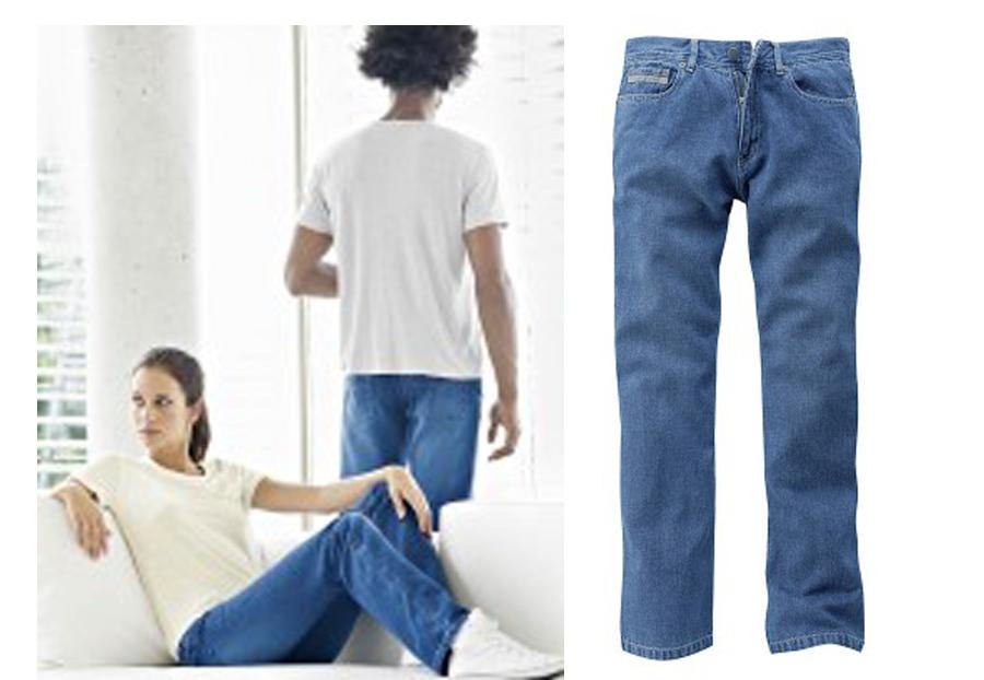 ein paar Tage entfernt große Auswahl Brandneu Hempage Damen Herren Unisex Jeans Hose, Größe 28/32 zu ...