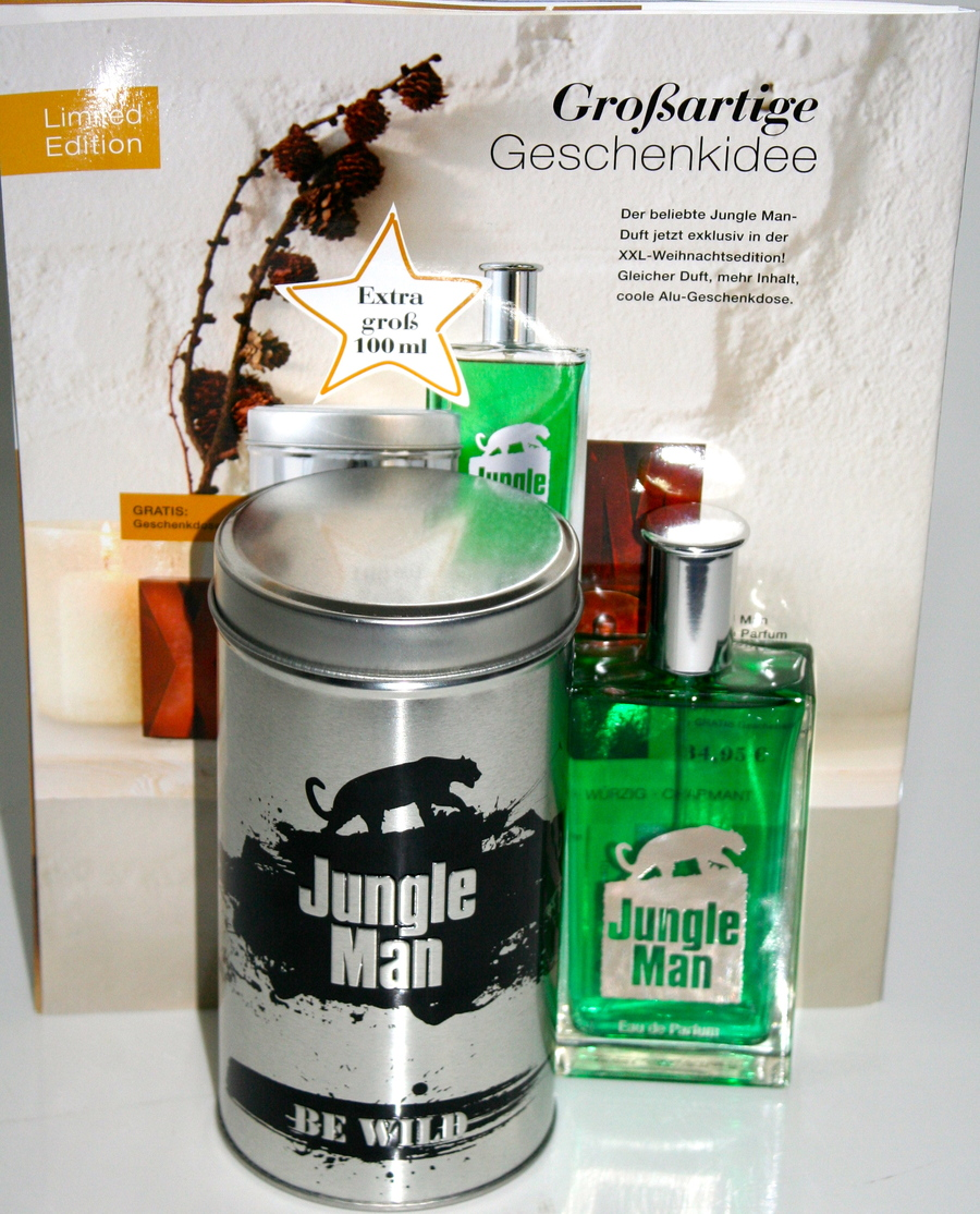 be wild eau de parfum herren jungle man von lr in der. Black Bedroom Furniture Sets. Home Design Ideas