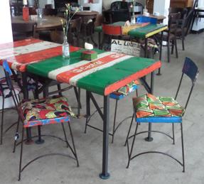lieblingsplatz tisch barigo aus alten lf ssern zu kaufen bei fairmondo. Black Bedroom Furniture Sets. Home Design Ideas