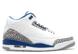 Air jordan 3 retro true blue 2011 release white true blue 011391 1