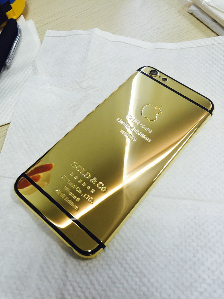 gold iphone 6 iphone 6 cover 24k vergoldet geh 228 use akkudeckel backcover 10710