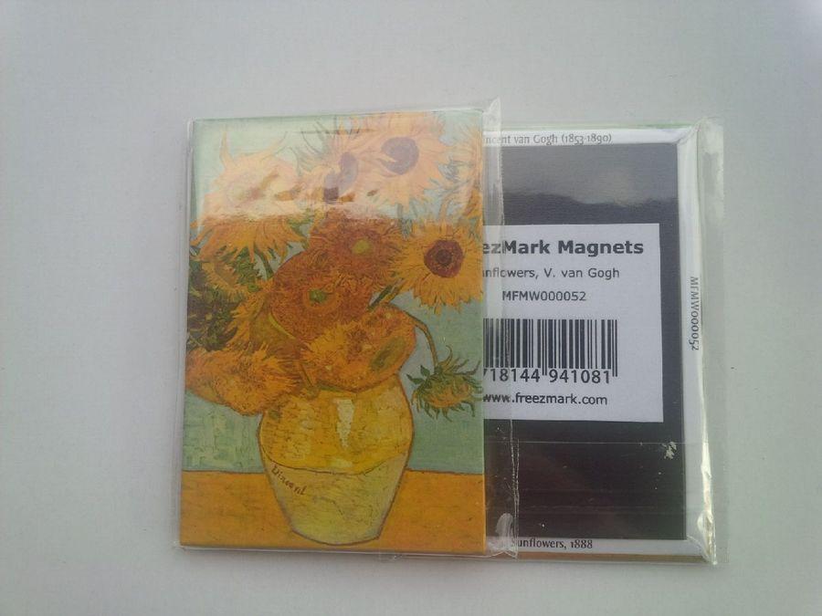 Kühlschrankmagnetfridge Magnetvincent Van Goghsonnenblumen 8 X
