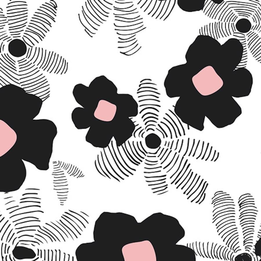 Jersey Stoff Von Art Gallery Asphodel Depth Blumen