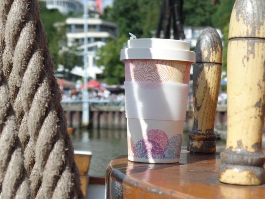 Coffee To Go Bambus Becher Deckel Mit Schraubverschluss Zu Kaufen