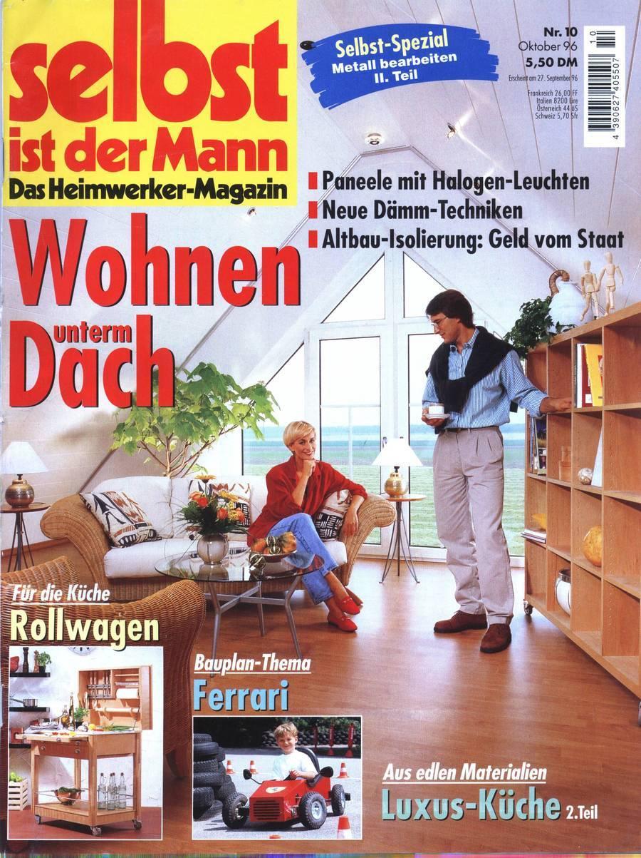 Selbst Ist Der Mann Das Heimwerker Magazin Nr 10 1996 Zu Kaufen Bei
