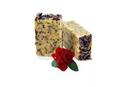 25  hibiscus and rosehip soap