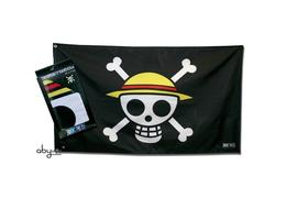 One piece piratenflagge fahne jolly roger skull ruffy 70 x 120 cm