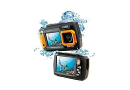 Easypix aquapix w1400 active unterwasserkamera orange