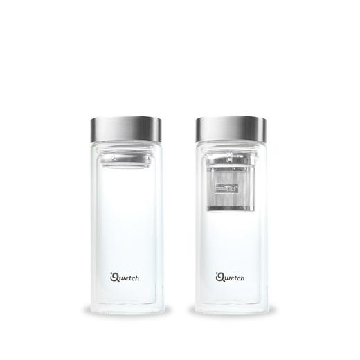 Isolierte glas teekanne 320ml