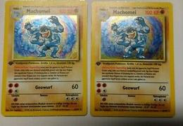 Pokemon karte machamp 1 edition 8 102 holo basis