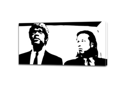 Pulp fiction poster 1000