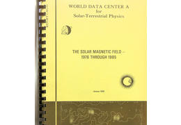 The solar magnetic field 1976 through 1985