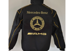 Mercedes old amg sw gold h