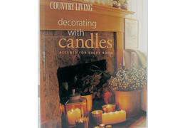 Maria ricapito decorating with candles