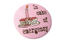 In cake of emergency