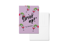 Drinkup purple mockup