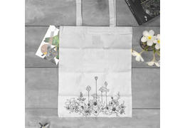 We are kora organic tote bag lotus